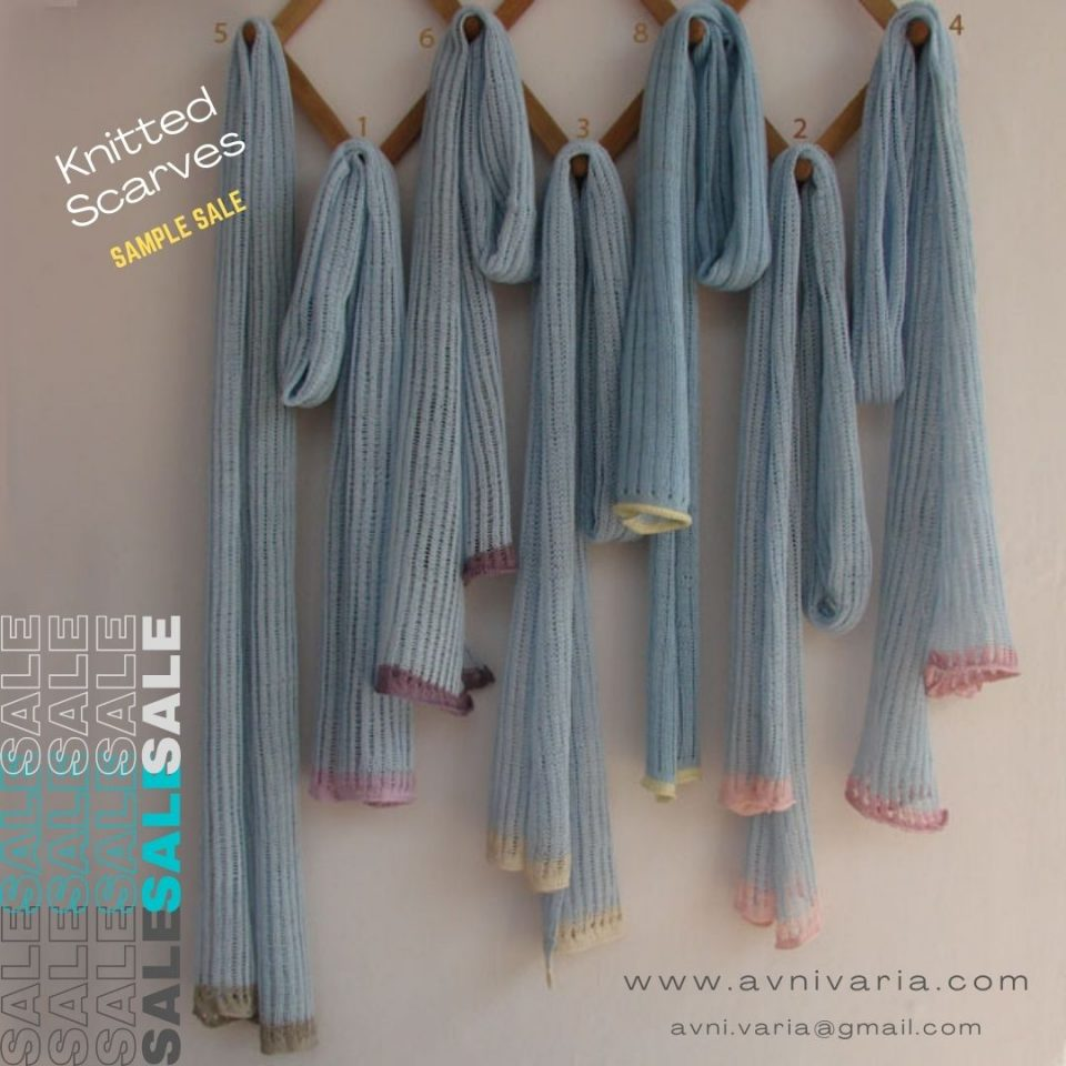 knit scarf samplesale